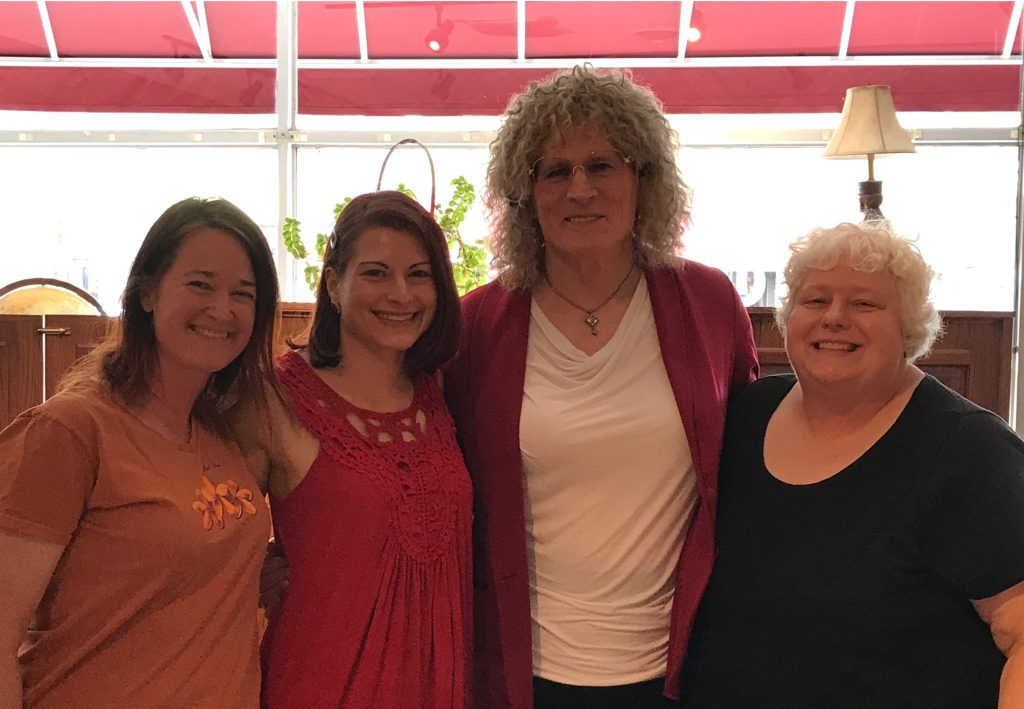 Hollie, Melissa, Renee, and Susan